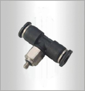 PB-C, Pneumatic Fittings, Air Fittings, one touch tube fittings, Pneumatic Fitting, Nickel Plated Brass Push in Fittings