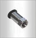 PCF-C, Pneumatic Fittings, Air Fittings, one touch tube fittings, Pneumatic Fitting, Nickel Plated Brass Push in Fittings
