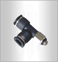 PD-C, Pneumatic Fittings, Air Fittings, one touch tube fittings, Pneumatic Fitting, Nickel Plated Brass Push in Fittings
