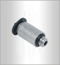POC-C, Pneumatic Fittings, Air Fittings, one touch tube fittings, Pneumatic Fitting, Nickel Plated Brass Push in Fittings