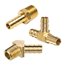 Hose Barb Fittings, Brass Barbed Fittings, Hose Fittings