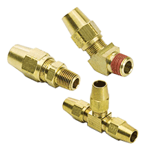DOT Air Brake Compression Fittings | D.O.T. Air Brake Fittings For Copper Tubing