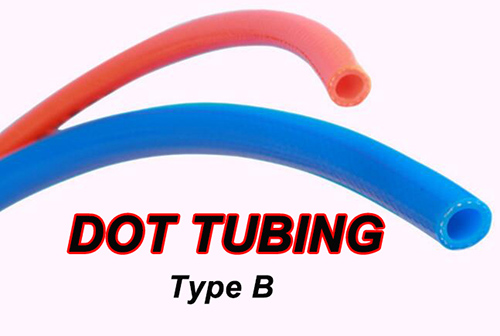 DOT-TUBING, SAE J844 TUBING, AIR BRAKE TUBING TYPE B