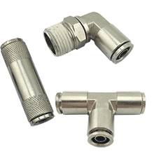 DOT Push To Connect Air Brake Fittings | Brass D.O.T. Push In Air Fittings