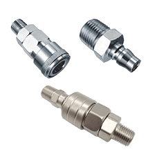 Air Line Fittings | Quick Couplers | Quick Release Coupling | AirLine Fittings, Japanese Type Quick Coupler, Nitto Type Quick Coupler, One Touch Type Quick Coupler, Two Touch Type Quick Coupler