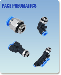Pneumatic Fittings with BSPP thread, Air Fittings, one touch tube fittings, Pneumatic Fitting, Nickel Plated Brass Push in Fittings