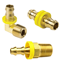 Push On Hose Barb Fittings, Push On Fittings, Brass Air Hose Fittings