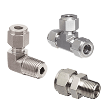 Stainless Steel Compression Fittings | Stainless Steel Pneumatic Pipe Joint Fittings | Stainless Steel Air Fittings
