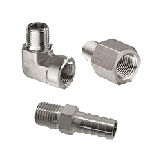 Stainless Steel Pipe Fittings, Stainless Steel Threaded Fittings, Stainless Steel BSP Fittings