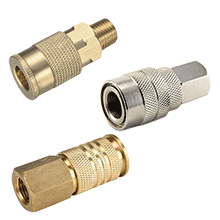 Air Line Fittings | Quick Couplers | Quick Release Coupling | AirLine Fittings, ARO Quick Coupler, Milton Quick Coupler