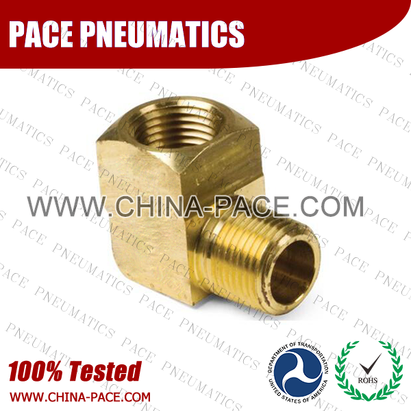 90 Degree Street Elbow, Brass Pipe Fittings, Brass Threaded Fittings, Brass Hose Fittings,  Pneumatic Fittings, Brass Air Fittings, Hex Nipple, Hex Bushing, Coupling, Forged Fittings