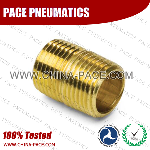 Close Nipple Brass Pipe Fittings, Brass Threaded Fittings, Brass Hose Fittings,  Pneumatic Fittings, Brass Air Fittings, Hex Nipple, Hex Bushing, Coupling, Forged Fittings