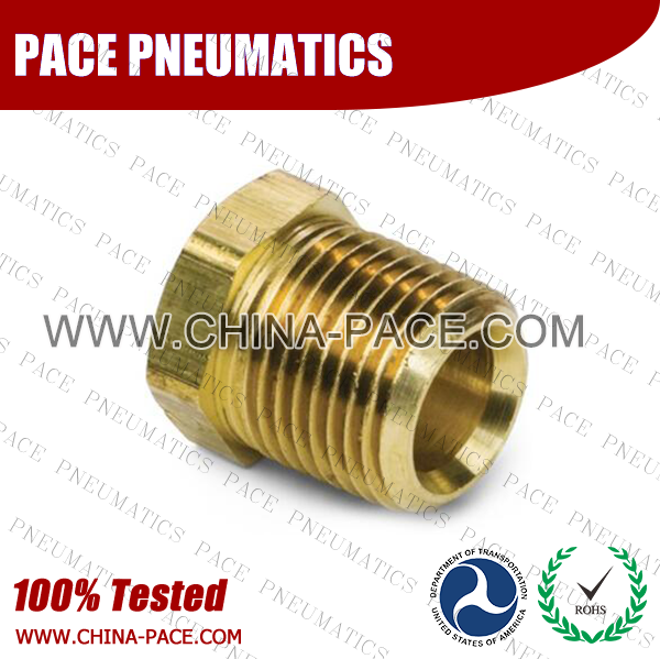 Cored Hex Plug Brass Pipe Fittings, Brass Threaded Fittings, Brass Hose Fittings,  Pneumatic Fittings, Brass Air Fittings, Hex Nipple, Hex Bushing, Coupling, Forged Fittings