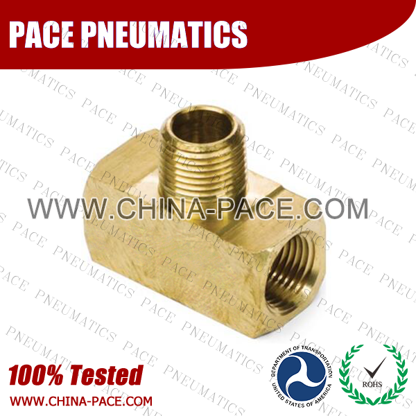 Male Branch Tee Brass Pipe Fittings, Brass Threaded Fittings, Brass Hose Fittings,  Pneumatic Fittings, Brass Air Fittings, Hex Nipple, Hex Bushing, Coupling, Forged Fittings