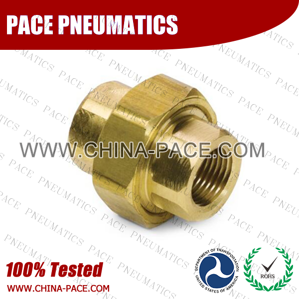 Union Brass Pipe Fittings, Brass Threaded Fittings, Brass Hose Fittings,  Pneumatic Fittings, Brass Air Fittings, Hex Nipple, Hex Bushing, Coupling, Forged Fittings