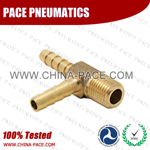Male Run Tee Hose Barb Fittings, Brass Hose Fittings, Brass Hose Splicer, Brass Hose Barb Pipe Threaded Fittings, Pneumatic Fittings, Brass Air Fittings