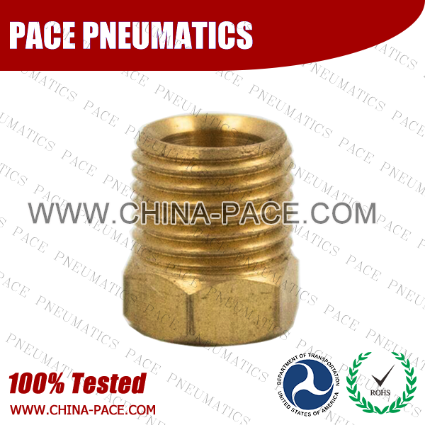Nut SAE Inverted Flare Fittings, Brass Inverted Flare Fittings & Adapters, Brass Pipe Fittings, Brass Air Fittings