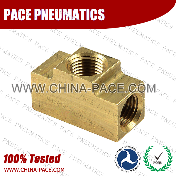 Inverted Flare Union Tee SAE Inverted Flare Fittings, Brass Inverted Flare Fittings & Adapters, Brass Pipe Fittings, Brass Air Fittings