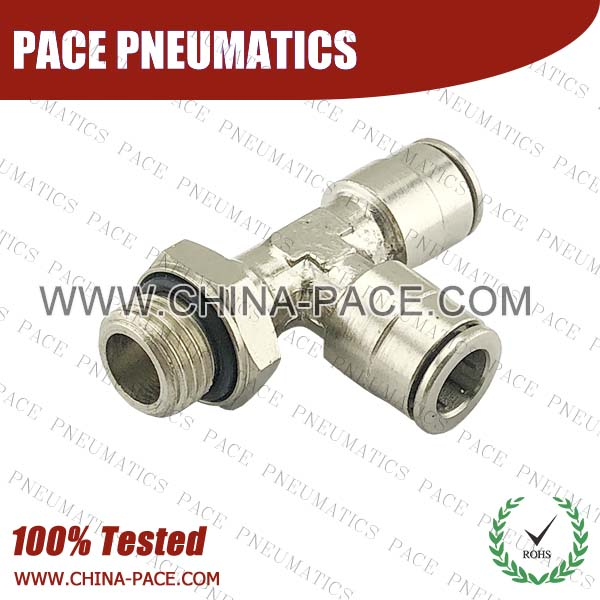 Camozzi Type all metal push in Fitting, Pneumatic Fittings