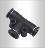 PE-C, Pneumatic Fittings, Air Fittings, one touch tube fittings, Pneumatic Fitting, Nickel Plated Brass Push in Fittings