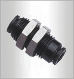 PM-C, Pneumatic Fittings, Air Fittings, one touch tube fittings, Pneumatic Fitting, Nickel Plated Brass Push in Fittings