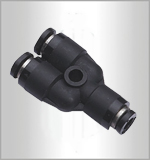 PY-C, Pneumatic Fittings, Air Fittings, one touch tube fittings, Pneumatic Fitting, Nickel Plated Brass Push in Fittings