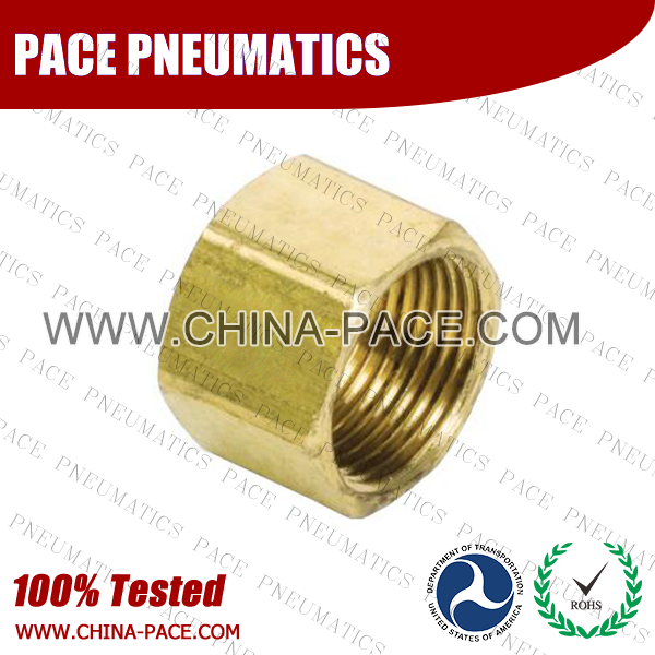 Nut Compression fittings, Brass connectors, Brass Pipe Joint Fittings, Pneumatic Fittings, Air Fittings