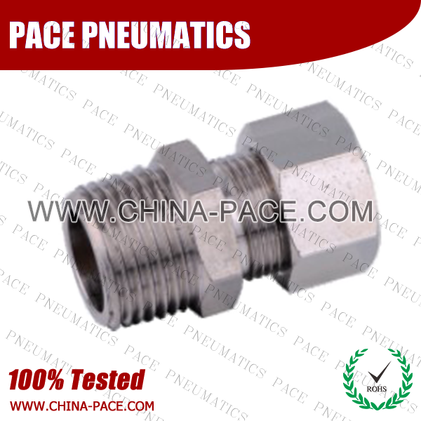 Psf,Brass air connector, brass fitting,Pneumatic Fittings, Air Fittings, one touch tube fittings, Nickel Plated Brass Push in Fittings