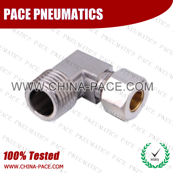 Psmf,Brass air connector, brass fitting,Pneumatic Fittings, Air Fittings, one touch tube fittings, Nickel Plated Brass Push in Fittings