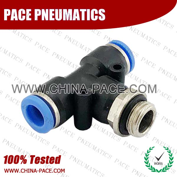 PB-G,Pneumatic Fittings with BSPP thread, Air Fittings, one touch tube fittings, Pneumatic Fitting, Nickel Plated Brass Push in Fittings