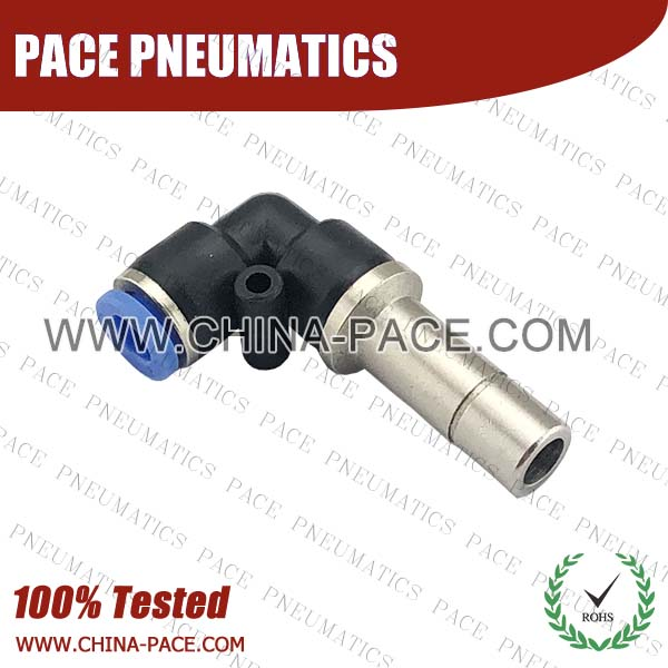 PLJ,Pneumatic Fittings with npt and bspt thread, Air Fittings, one touch tube fittings, Pneumatic Fitting, Nickel Plated Brass Push in Fittings