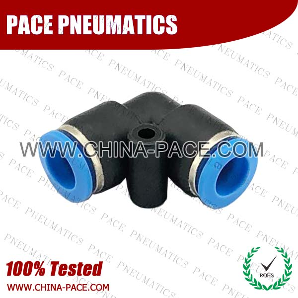 PV,Pneumatic Fittings with npt and bspt thread, Air Fittings, one touch tube fittings, Pneumatic Fitting, Nickel Plated Brass Push in Fittings