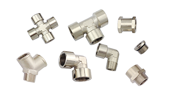 Nickel Plated Brass Push To Connect Fittings, Camozzi Type Brass Push In Air Fittings, Brass Air Fittings, Nickel Plated Brass Pneumatic Fittings, NP Brass Pipe Threaded Fittings, BSPP Fittings, Rapid Screw Fittings For Plastic Tube, Brass Hose Fittings, Push In Schrader Valve, Push To Connect Inflation Valve, Air Suspension Valve