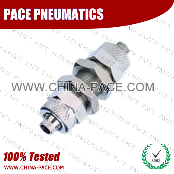 Po,Brass air connector, brass fitting,Pneumatic Fittings, Air Fittings, one touch tube fittings, Nickel Plated Brass Push in Fittings
