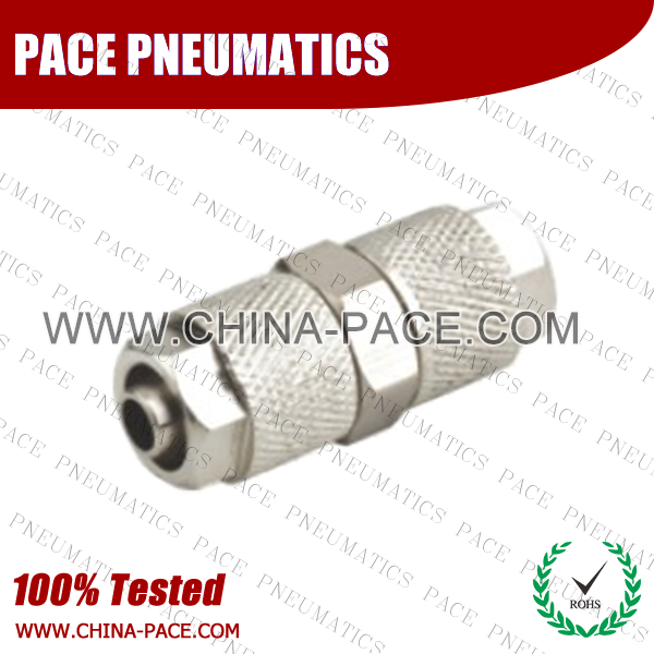 Poh,Brass air connector, brass fitting,Pneumatic Fittings, Air Fittings, one touch tube fittings, Nickel Plated Brass Push in Fittings