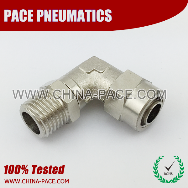 Male Swivel Elbow Stainless Steel Rapid Fittings, Two Touch Fittings, Push On Fittings