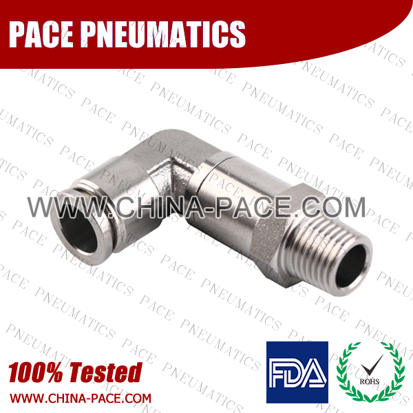 Extend Male Elbow Stainless Steel Push To Connect Fittings