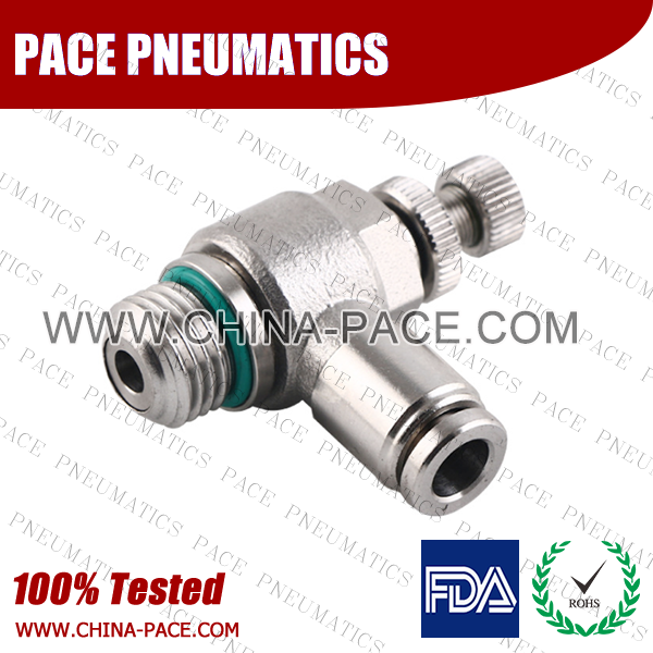 G Thread Stainless Steel Push To Connect Fittings, BSPP Thread SS Push In Fittings